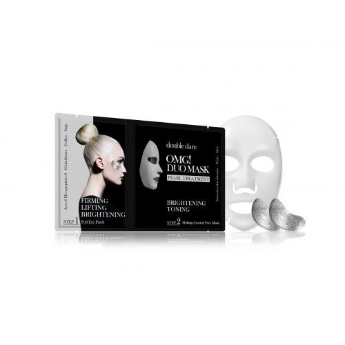 OMG Duo Mask Gold Therapy Veido priežiūros priemonių rinkinys Rinkinys