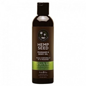 Marrakesh Hemp Seed Naked in the Woods Masažinis kūno aliejus 237ml