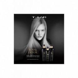 T-LAB Professional Royal Detox Plaukų priemonių rinkinys pavargusiems, slenkantiems ir ploniems plaukams