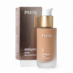 Paese Unique Matt Foundation Kreminė pudra 30ml608C Golden Beige