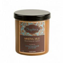 Saphira Divine Mineral Mud Curly Intensyviai drėkinantis, besipučiantiems plaukams mineralinis purvas 1000ml