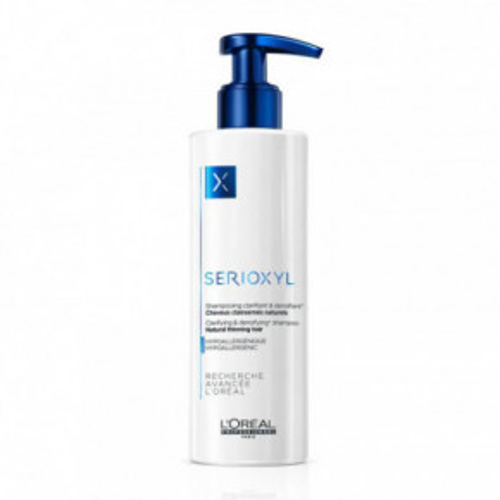 Serioxyl Clarifying And Densifying Shampoo Valantis šampūnas natūraliems plaukams