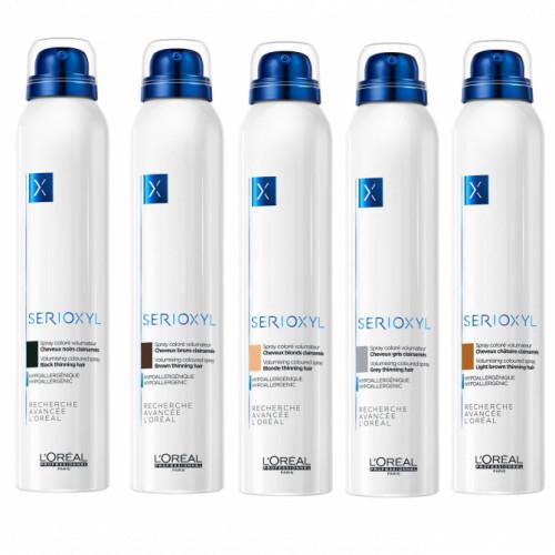 L'Oréal Professionnel Serioxyl Volumising Coloured Spray Apimties suteikiantis purškiklis 200ml