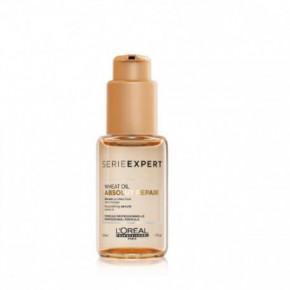 L'Oréal Professionnel Absolut Repair Wheat Oil serum Lyginamasis labai pažeistų plaukų serumas 50ml
