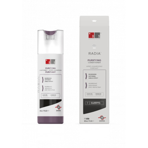 DS Laboratories Radia Clarifying Softening Conditioner Valomasis, minkštinamasis kondicionierius 205ml