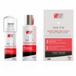 DS Laboratories NIA Fix Instant Bond and Cuticle Restructuring System Plaukų atstatymo sistema 100ml+50ml