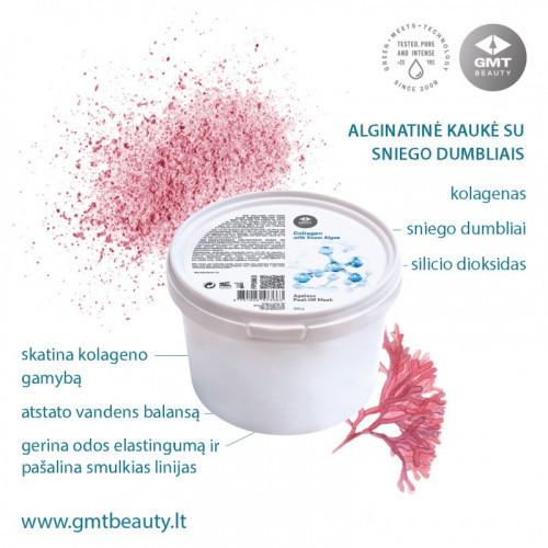 GMT BEAUTY Collagen with Snow Algae Ageless Peel-Off Mask Alginatinė kaukė su sniego dumbliais 200g