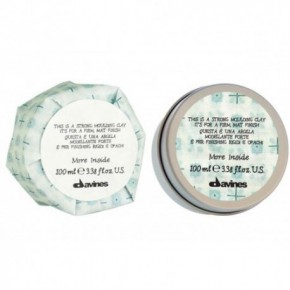 Davines More inside strong moulding clay Stiprios fiksacijos molis 75ml