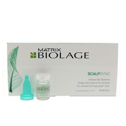 Biolage Scalpsync Aminexil Treatment Priemonė nuo plaukų slinkimo 10x6ml