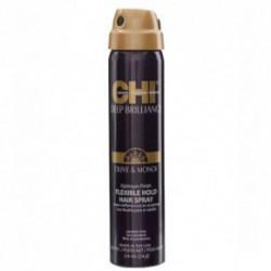CHI Deep Brilliance Lanksčios fiksacijos plaukų lakas su alyvuogių ir monoi aliejais 74g